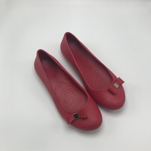 b0af2c1d368b CROCS Shoes - Croc Gianna Bow Ballet Flat
